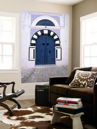 Blue Door, Sidi Bou Said, Tunisia