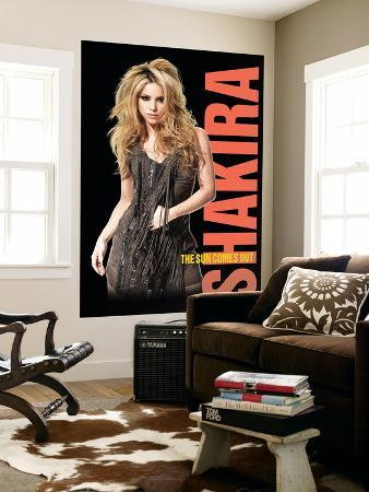 Concert Poster: Shakira, The Sun Comes Out