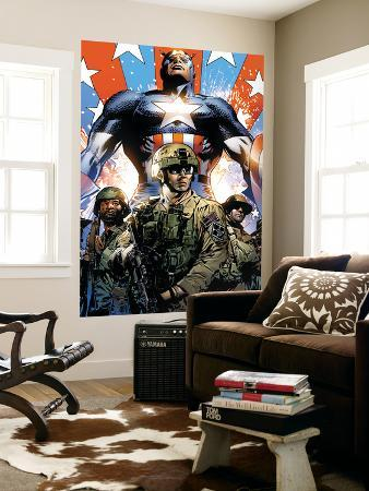 Captain America Theater of War: Ghosts of My Country No.1 Cover: Captain America