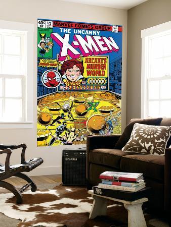 Uncanny X-Men No.123 Cover: Arcade