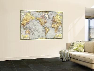 1943 World Map