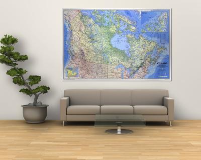 1985 Canada Map