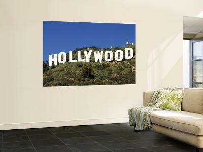 Hollywood Sign at Hollywood Hills, Los Angeles, California, USA
