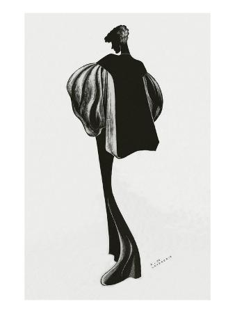 Vogue - December 1934 - Molyneux Cape