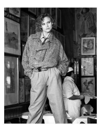 W - October 1983 - Giorgio Armani Fashion Preview