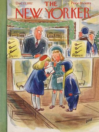 The New Yorker Cover - December 13, 1952