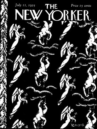 The New Yorker Cover - July 11, 1925