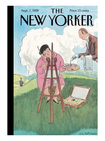 The New Yorker Cover - September 1, 1928