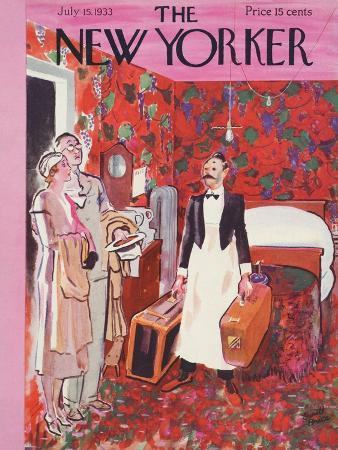 The New Yorker Cover - July 15, 1933