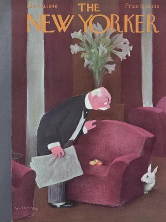 The New Yorker Cover - March 23, 1940
