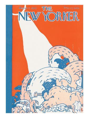 The New Yorker Cover - August 1, 1925