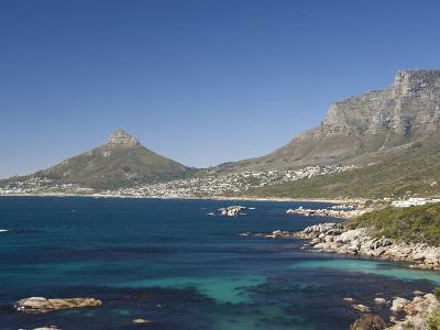Camps Bay and Clifton Area, View of the Backside of Lion's Head, Cape Town, South Africa