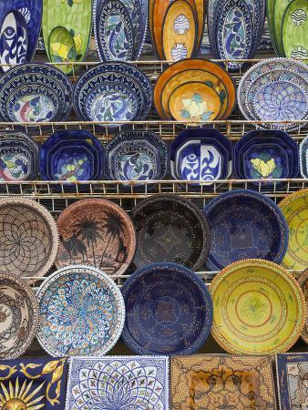 Tunisian Pottery, Port El Kantaoui, Tunisia