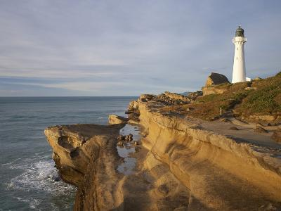 Castle Point Lighthouse, Castlepoint, Wairarapa, North Island, New Zealand