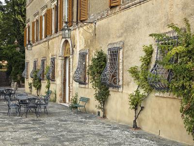 Outdoor Patio, Tuscany, Italy