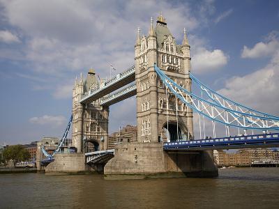 Tower Bridge and River Thames, London, England, United Kingdom