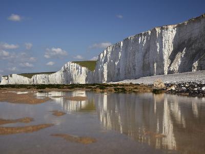 Seven Sisters Chalk Cliffs, Birling Gap, East Sussex, England