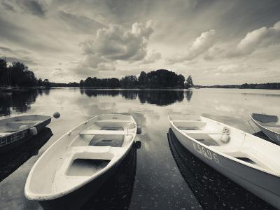 Lake Galve, Trakai Historical National Park, Trakai, Lithuania