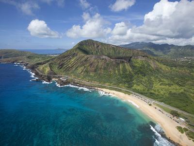 Sandy Beach, Koko Crater, Honolulu, Oahu, Hawaii