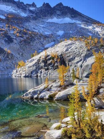 Leprechaun Lake, Enchantment Lakes, Alpine Lakes Wilderness, Washington, Usa
