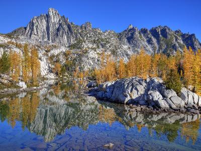 Enchantment Lakes, Alpine Lakes Wilderness, Washington, Usa