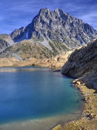 Ingalls Lake and Mt. Stuart, Alpine Lakes Wilderness, Washington, Usa