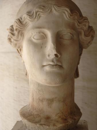 Head of Nike (Ii Century Ad), Agora Museum, Athens, Greece