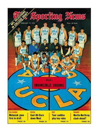 UCLA Bruins Basketball Team - February 17, 1973 Photo at ... Bruins Roster 1973