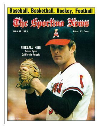 California Angels P Nolan Ryan - May 17, 1975