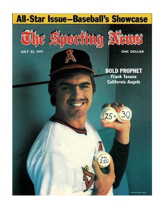 California Angels Pitcher Frank Tanana - July 23, 1977