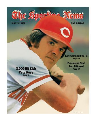 Cincinnati Reds Slugger Pete Rose - May 20, 1978