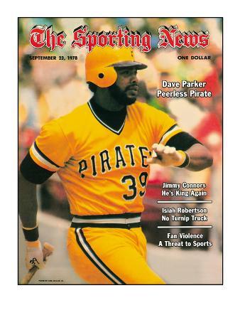 Pittsburgh Pirates RF Dave Parker - September 23, 1978