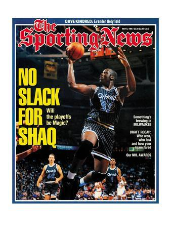 Orlando Magic' Shaquille O'Neal - May 9, 1994