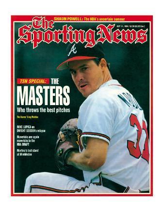 Atlanta Braves Pitcher Greg Maddux - July 11, 1994