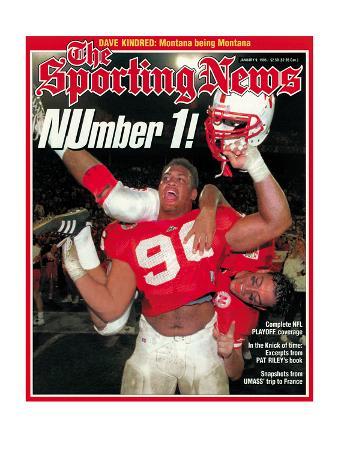Nebraska Cornhuskers - National Champions - January 9, 1995