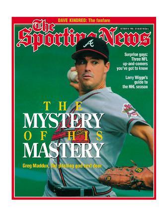 Atlanta Braves Pitcher Greg Maddux - October 9, 1995