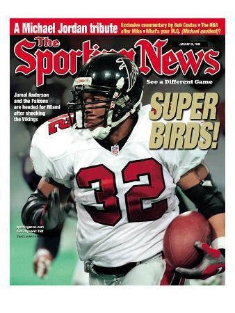 Atlanta Falcons RB Jamal Anderson - January 25, 1999