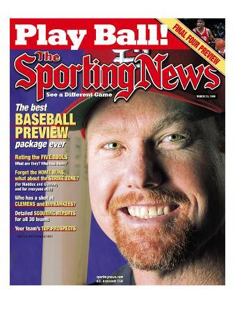 St. Louis Cardinals 1B Mark McGwire - March 29, 1999