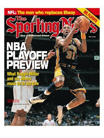 Indiana Pacers' Reggie Miller - May 10, 1999