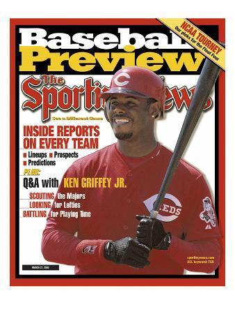 Cincinnati Reds OF Ken Griffey Jr. - March 27, 20000