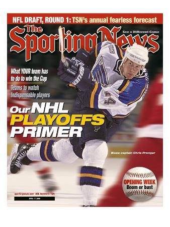 St. Louis Blues Captain Chris Pronger - April 17, 2000