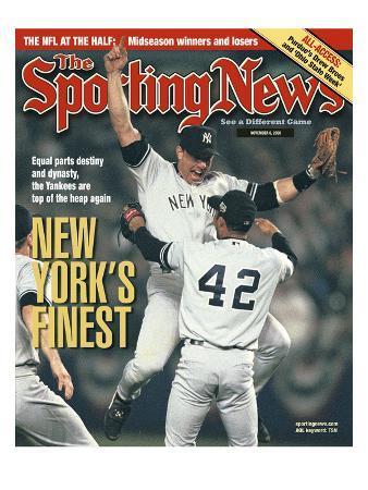 New York Yankees - World Series Champions - November 6, 2000