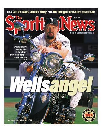 Chicago White Sox P David Wells - May 28, 2001