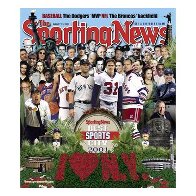 Best Sports City New York - August 13, 2001