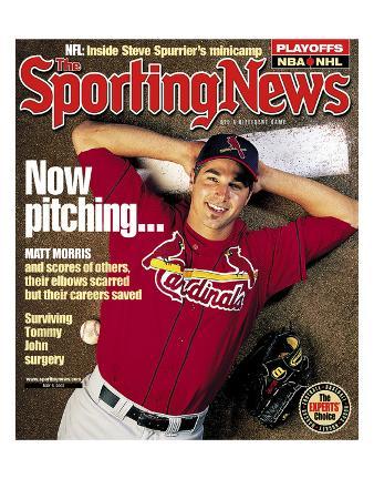St. Louis Cardinals P Matt Morris - May 6, 2002
