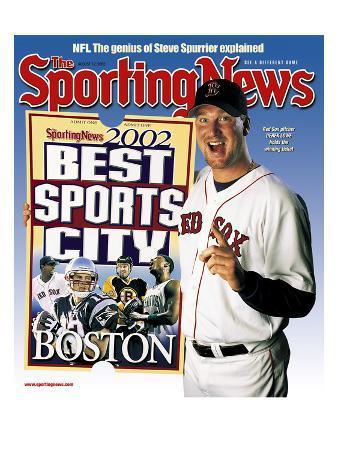 Best Sports City Boston - Boston Red Sox P Derek Lowe - August 12, 2002