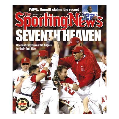 Anaheim Angels - World Series Champions - November 4, 2002