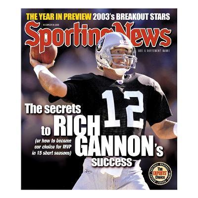 Oakland Raiders QB Rich Gannon - December 30, 2002