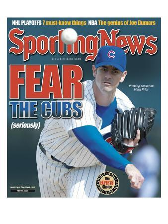 Chicago Cubs Pitcher Mark Prior - May 19, 2003
