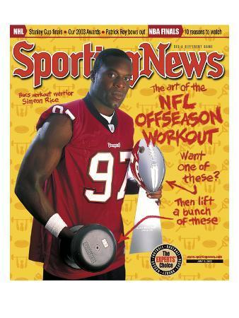Tampa Bay Buccaneers DE Simeon Rice - June 9, 2003